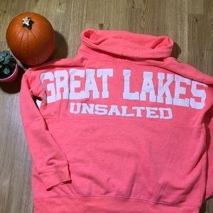 """Great Lakes """"Unsalted"""" Cowl Neck Pullover"""